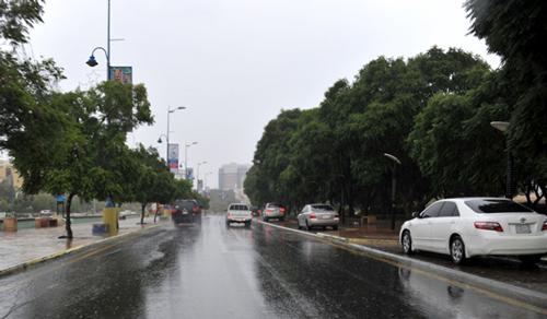 أمطار متفرقة على مكة والمدينة وحائل والجوف والشمالية والقصيم