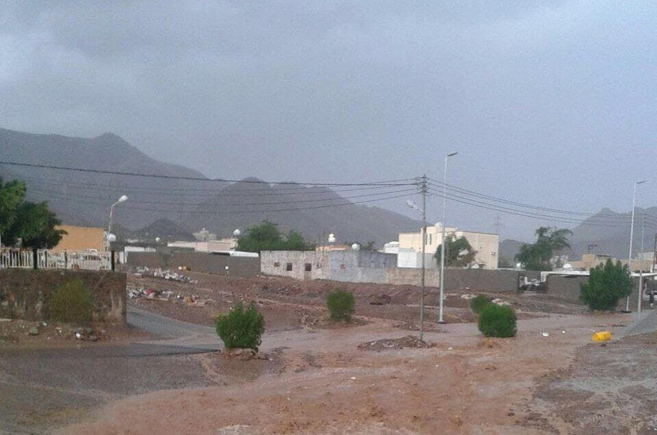 امطار غزيرة بالمدينة (4)