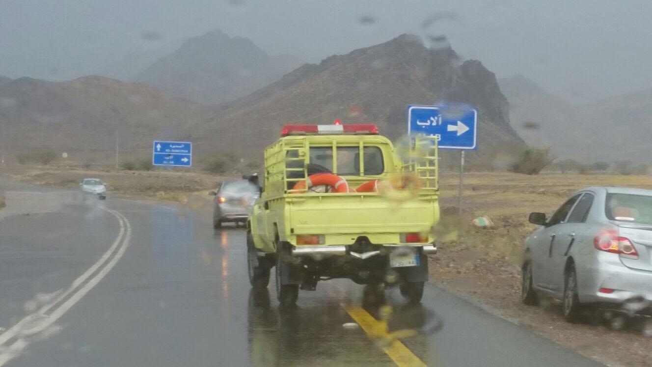 امطار غزيرة بالمدينة (5)