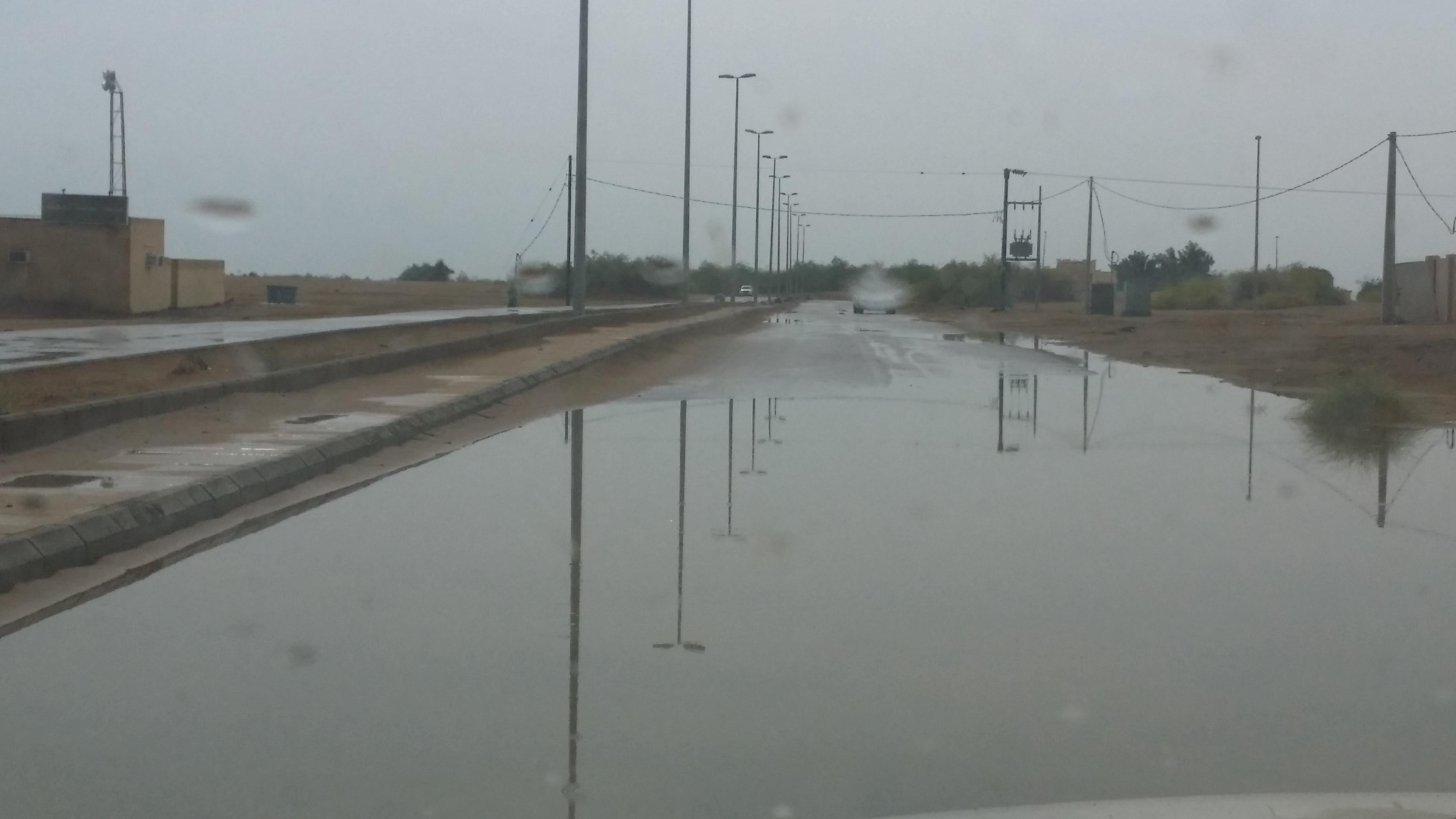 امطار غزيرة تلطف أجواء ساحل عسير (4)