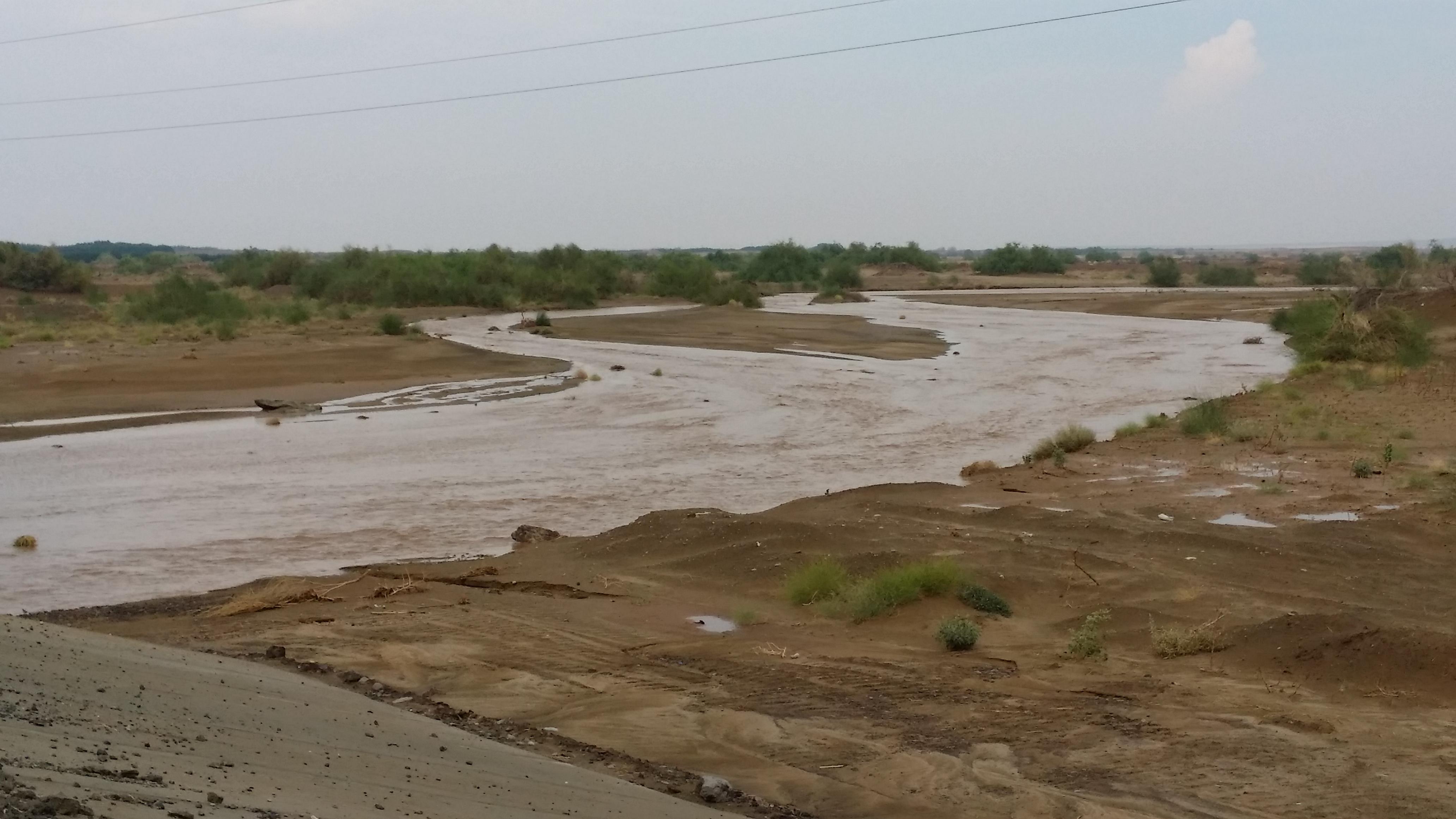 امطار غزيرة تلطف أجواء ساحل عسير (8)