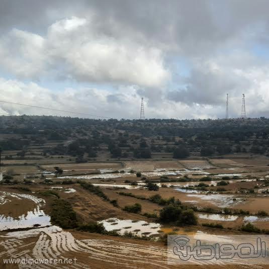 امطار قرى بلحمر بعسير2