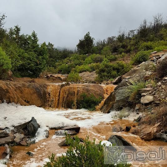 امطار قرى بلحمر بعسير4