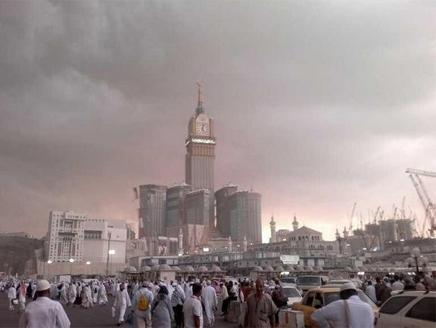 امطار-مكة-في-الحرم