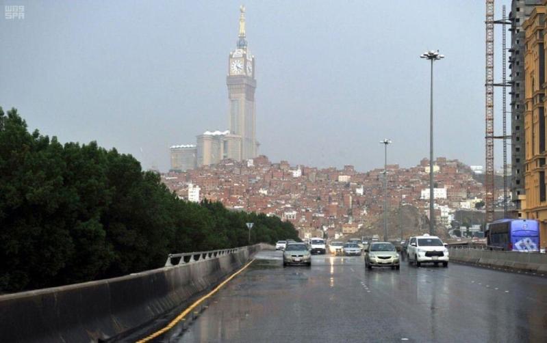 أمطار مكة من الجموم حتى الطائف