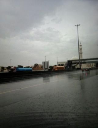 الأرصاد : أمطار على نجران حتى منتصف الليل