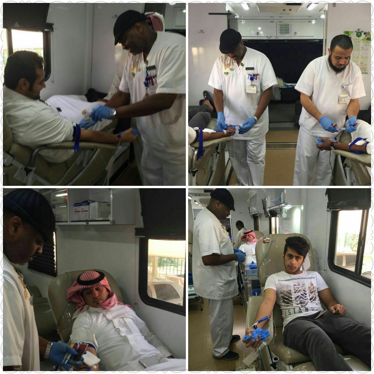 امنح حياة بقطرة من دمك تستقبل جموع المتبرعين في عمل الرياض (6)