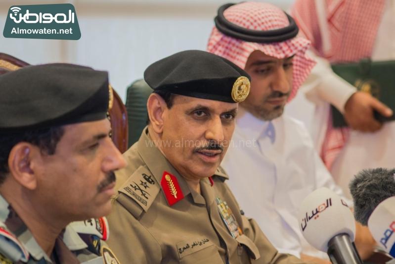 مدير الأمن العام الفريق عثمان المحرج