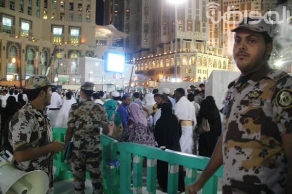 امن مكة العمرة لخدمة ضيوف الرحمن (1)