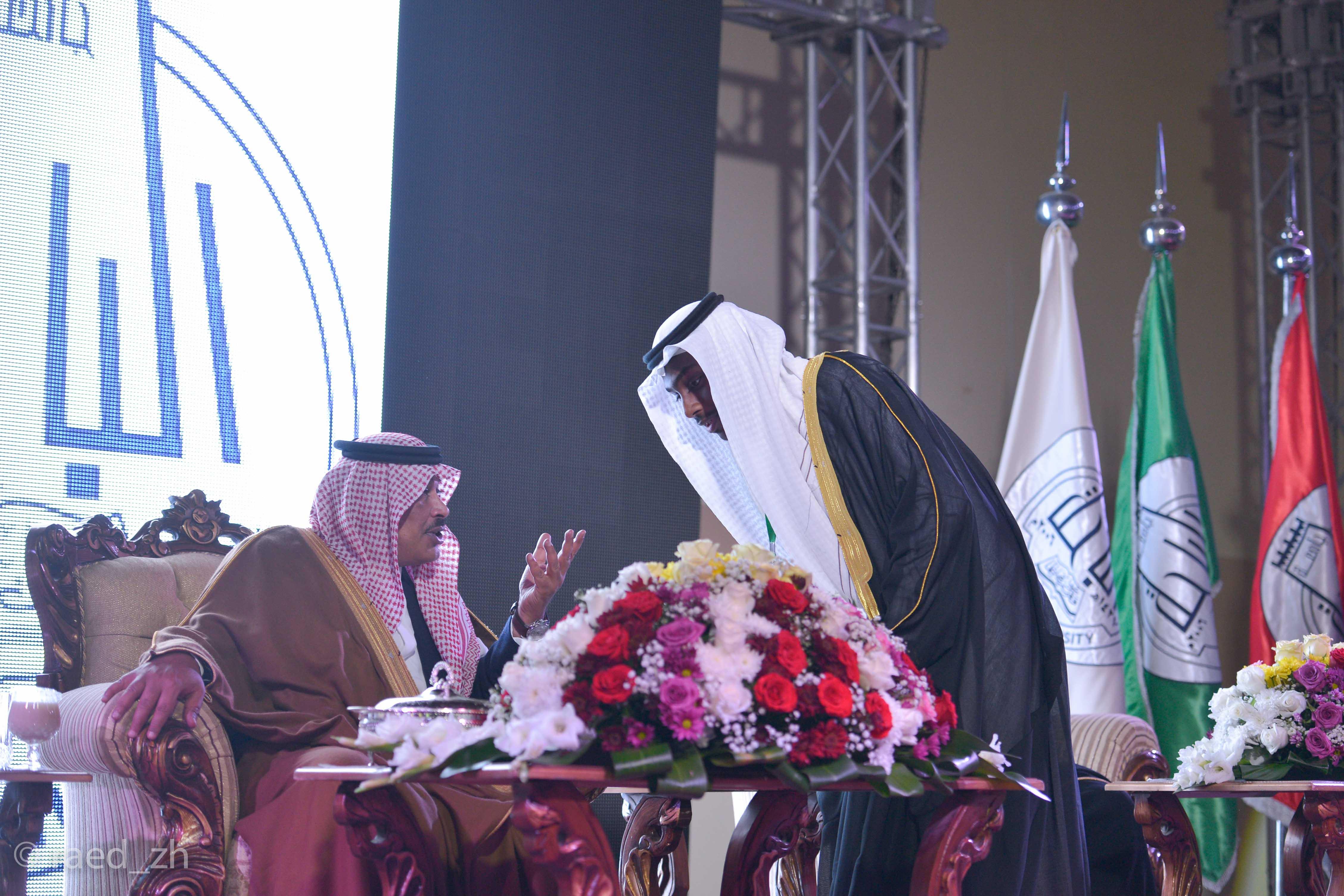 امير الباحة يرعى تخريج الدفعة العاشرة من طلاب وطالبات جامعة الباحة (15)