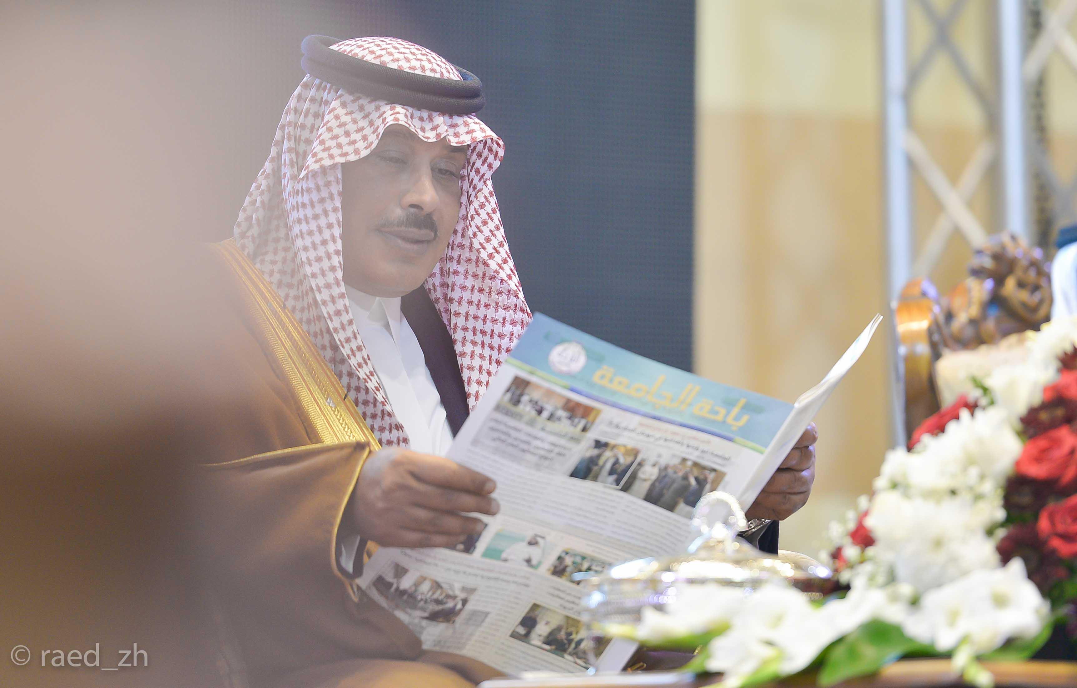 امير الباحة يرعى تخريج الدفعة العاشرة من طلاب وطالبات جامعة الباحة (8)