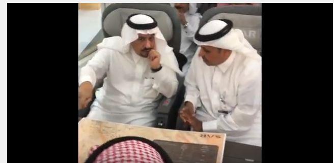 امير الرياض تجربة قطار سار