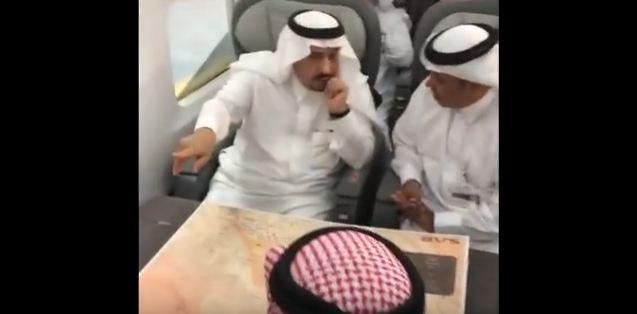 امير الرياض تجربة قطار سار1