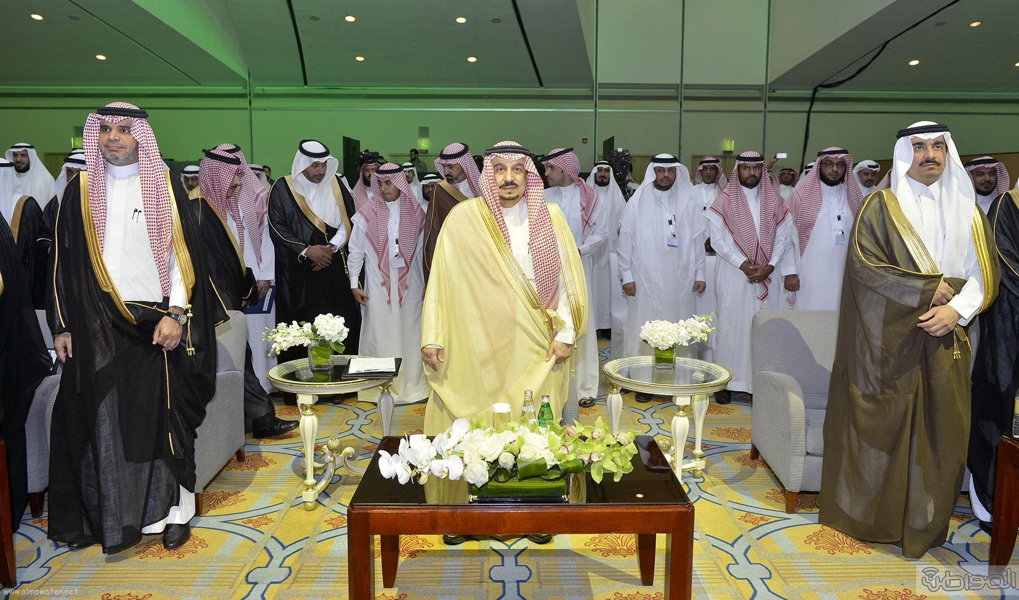 امير الرياض من ملتقي معا لانشاء جيل عالي من التعليم (1)