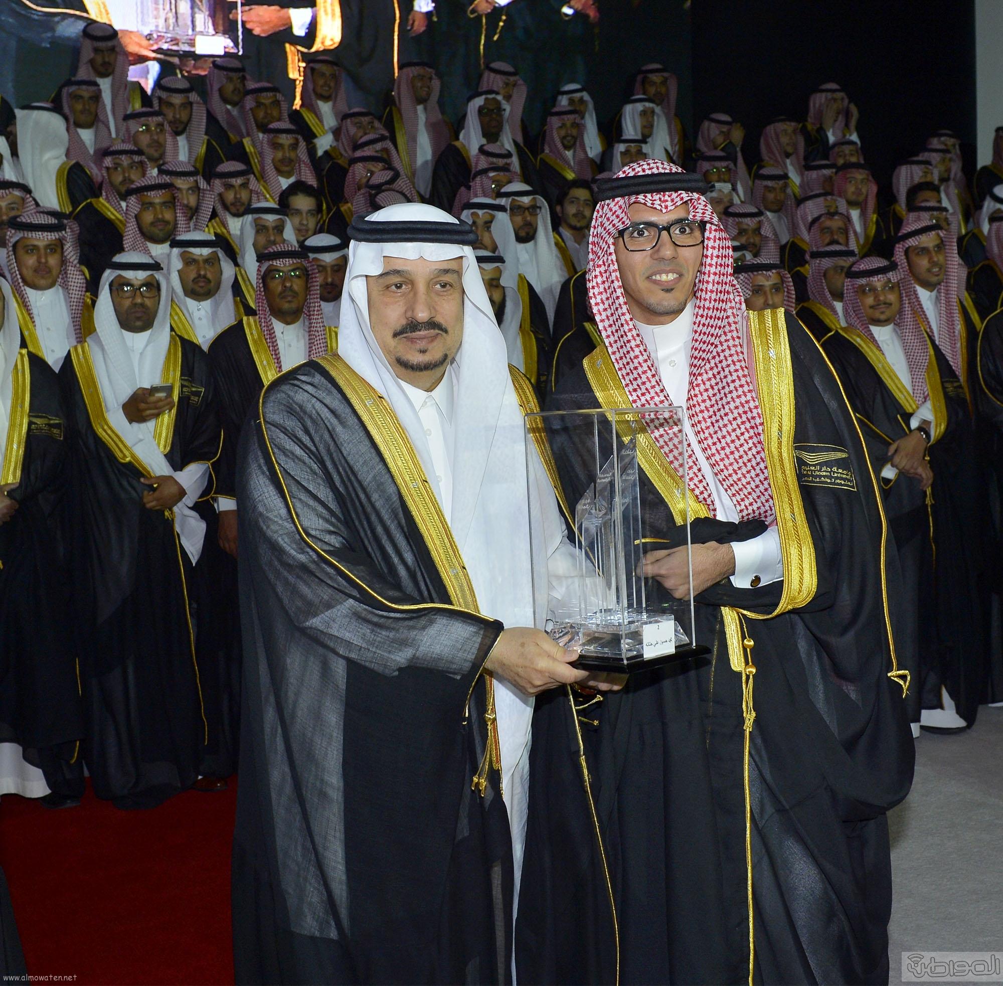 امير الرياض يرعى تخريج طلاب جامعة دار العلوم (12)