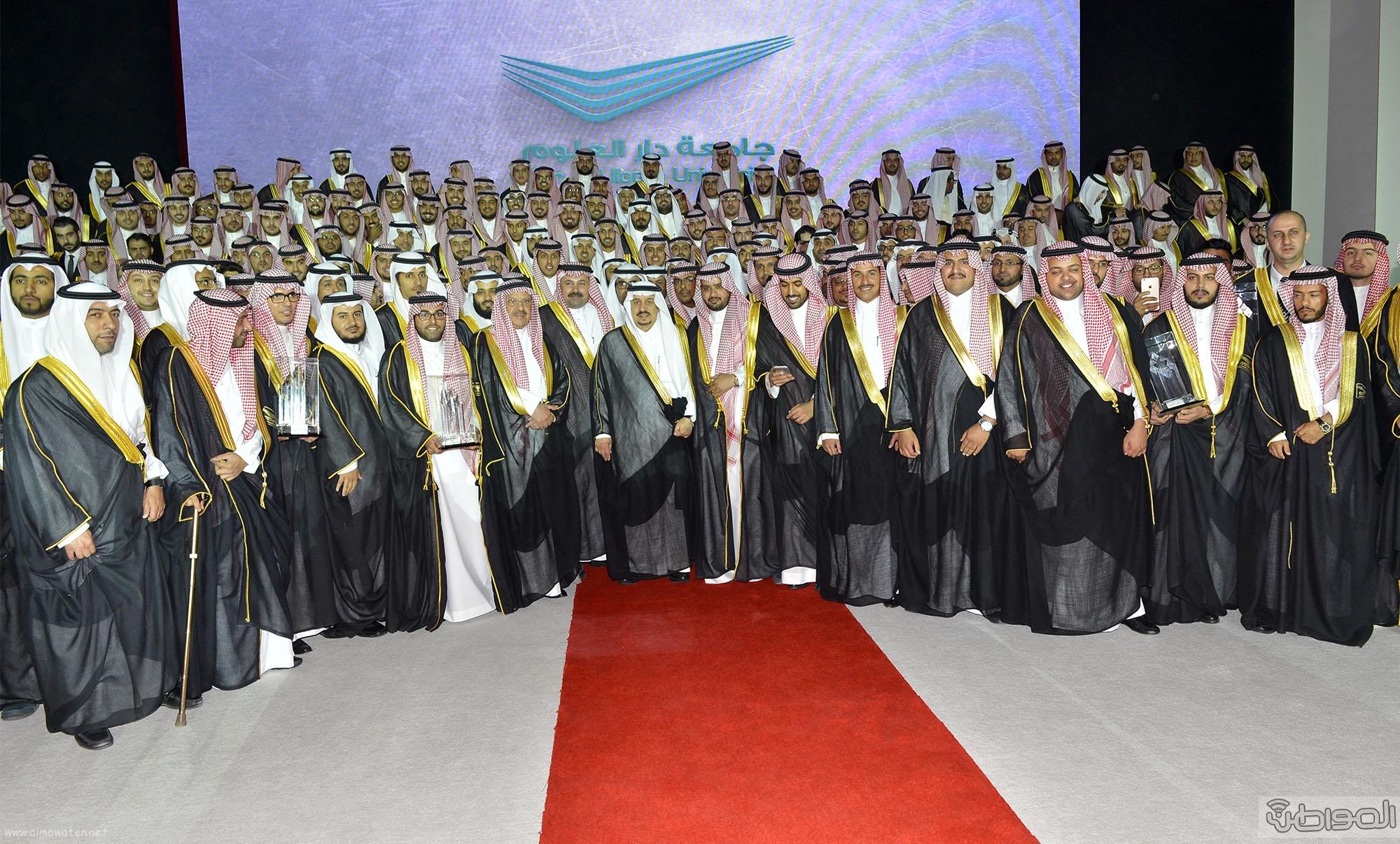 امير الرياض يرعى تخريج طلاب جامعة دار العلوم (16)