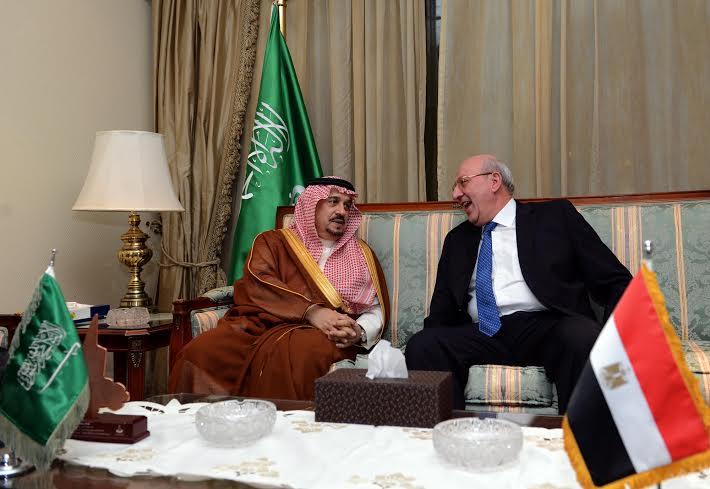 امير الرياض يرعى حفل سفارة مصر 2