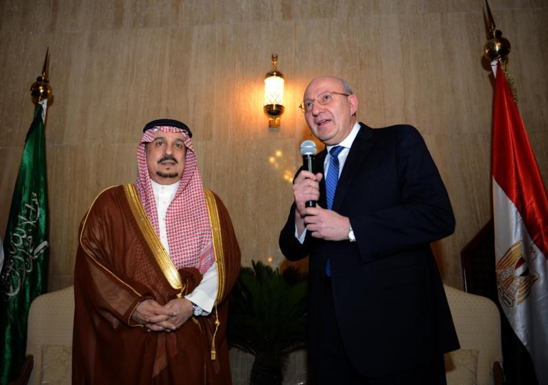 امير الرياض يرعى حفل سفارة مصر
