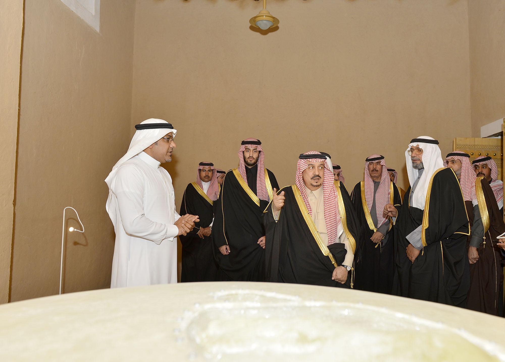 امير الرياض يرعي تراثنا حبنا بقصر المربع (1)