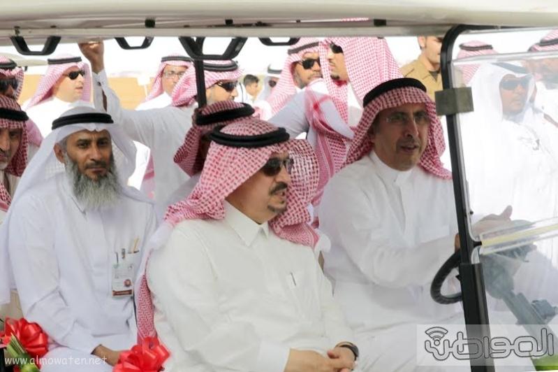 امير الرياض يزور مهرجان ربيع الرياض1