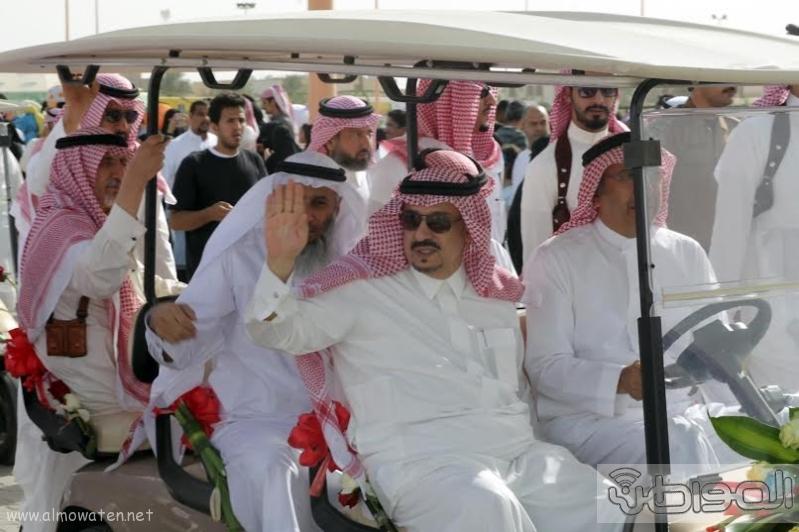 امير الرياض يزور مهرجان ربيع الرياض2