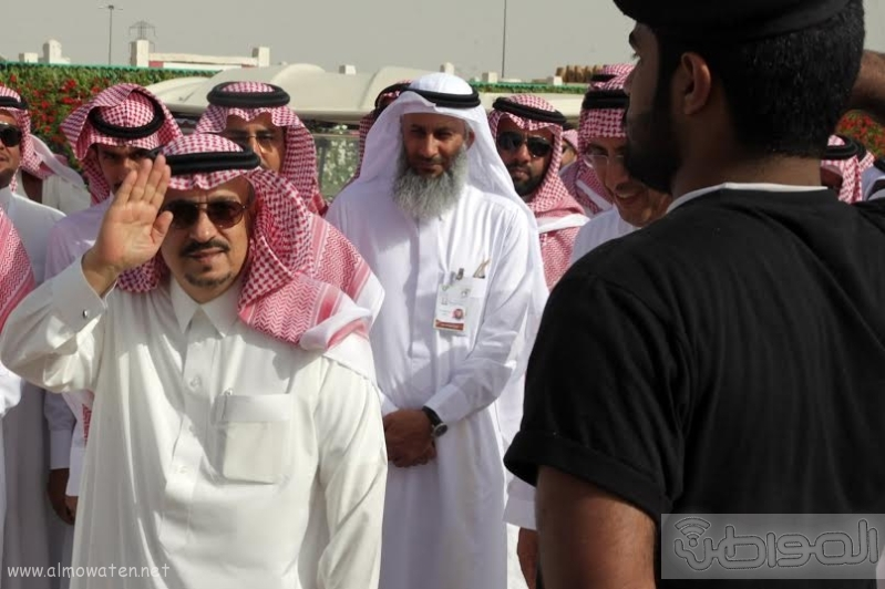 امير الرياض يزور مهرجان ربيع الرياض4