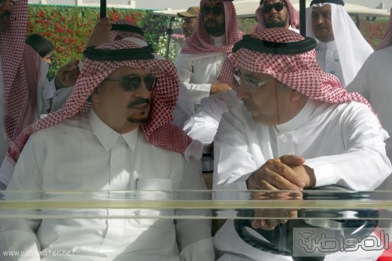 امير الرياض يزور مهرجان ربيع الرياض5
