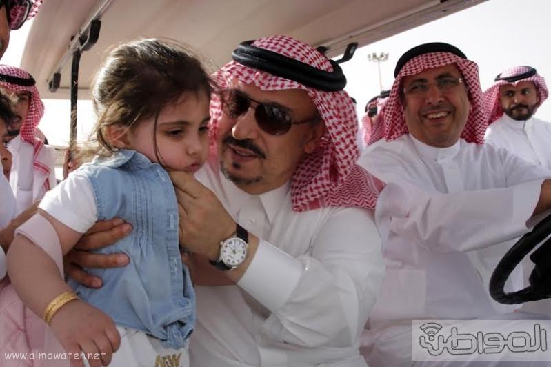 امير الرياض يزور مهرجان ربيع الرياض6
