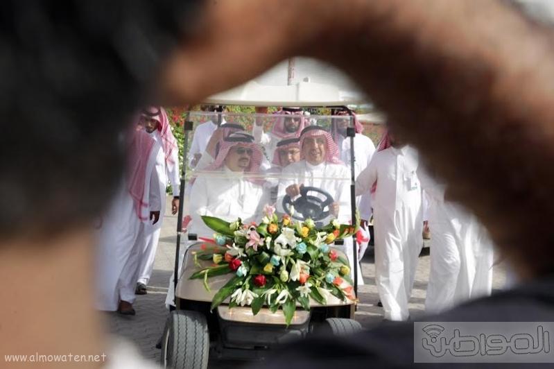 امير الرياض يزور مهرجان ربيع الرياض8