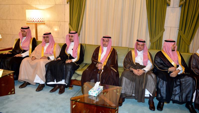 امير الرياض يستقبل المهنئين (365278157) 