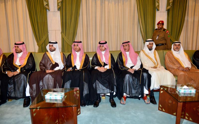 امير الرياض يستقبل المهنئين (365278158) 