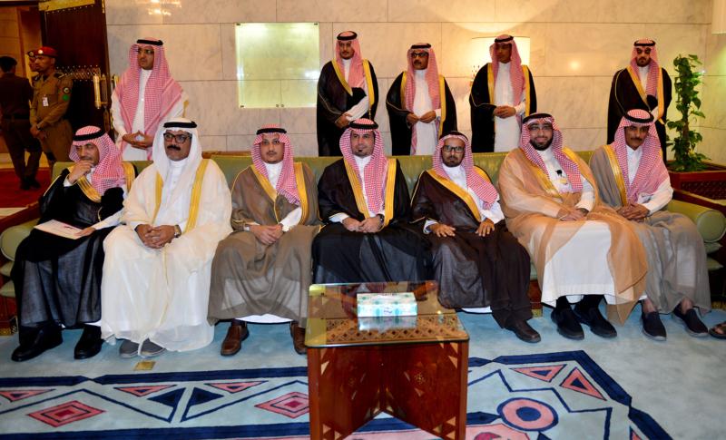 امير الرياض يستقبل المهنئين (365278161) 