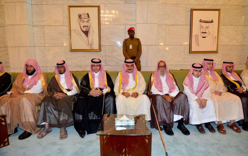 امير الرياض يستقبل المهنئين (365278162) 