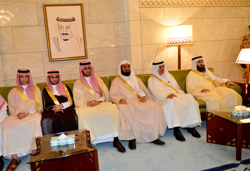 امير الرياض يستقبل المهنئين (365278163) 