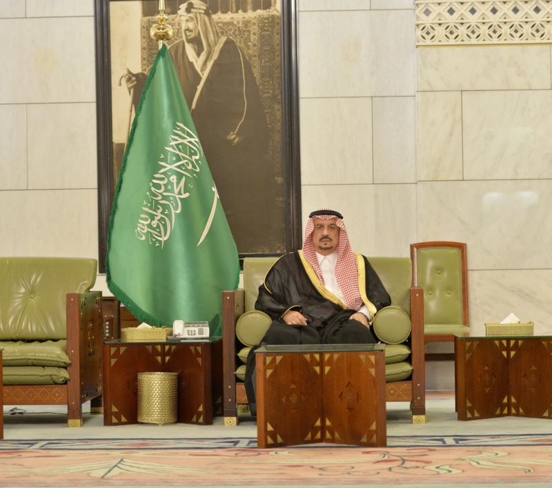 امير الرياض يستقبل المهنئين (365278167) 