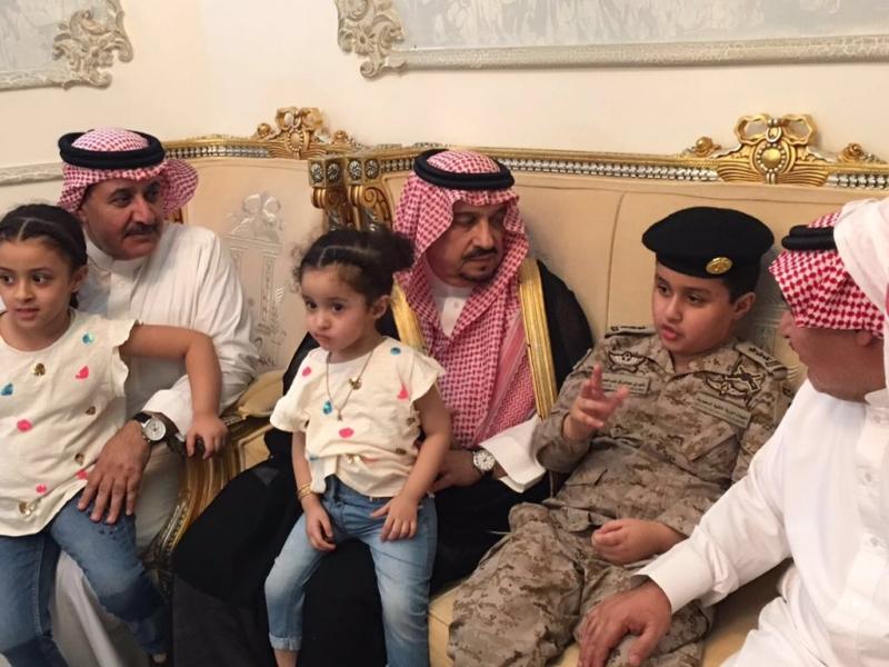 امير الرياض يعزي 3