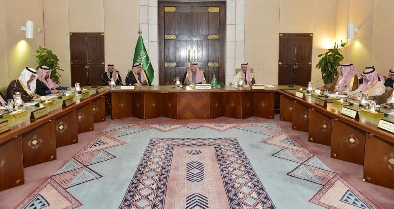 امير منطقة الرياض يرآس جلسه مجلس المنطقة12