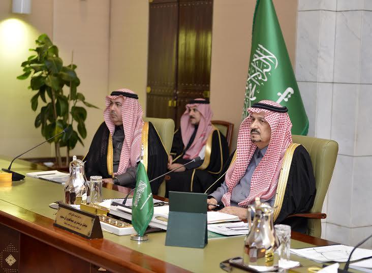 امير منطقة الرياض يرآس جلسه مجلس المنطقة14