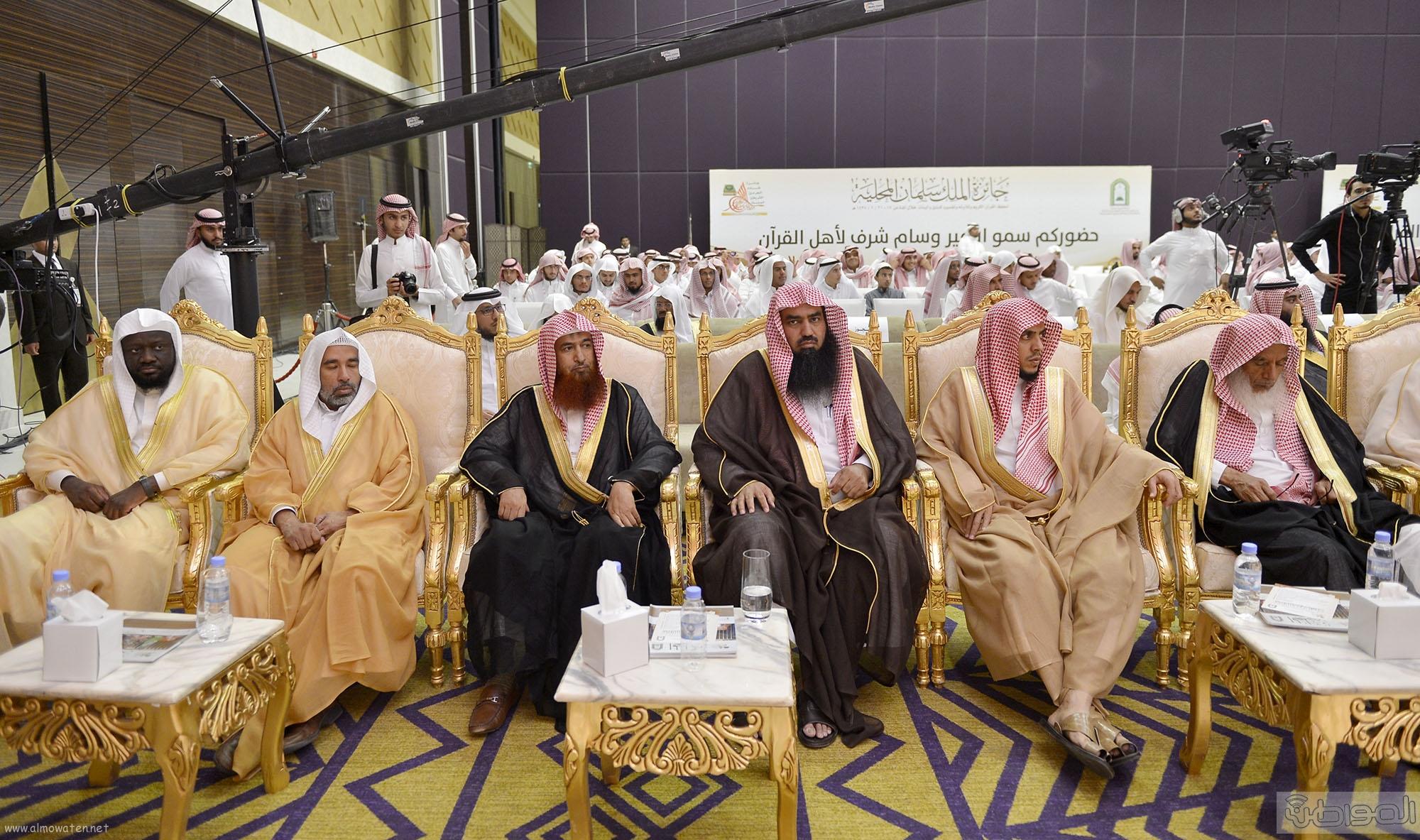 امير منطقة الرياض يرعى حفل اختتام مسابقة جائزة الملك سلمان لحفظ القران الكريم (3)
