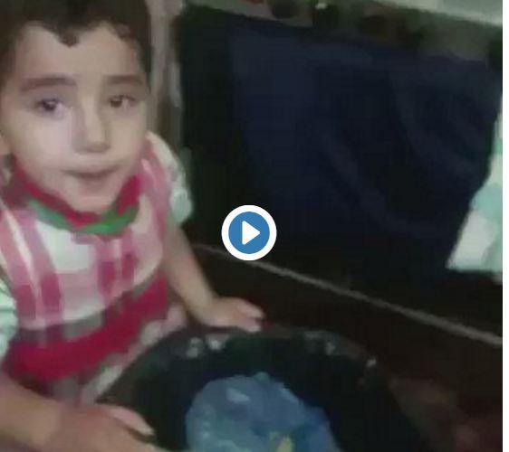 ام تعنف طفلها