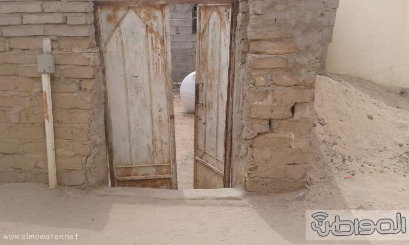 ام حسين امرأة طاعنة بالسن وسكنها يوشك على الانهيار (3)