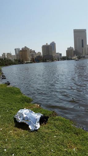انتشال جثة امرأة سقطت في بحيرة الأربعين بـ #جدة1