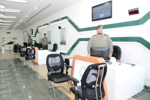 انتقال جوازات أسواق السدحان لمركز وزارة الداخلية (2)