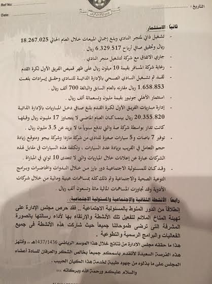 انتهاء الجمعية العمومية للنادي الأهلي (11)