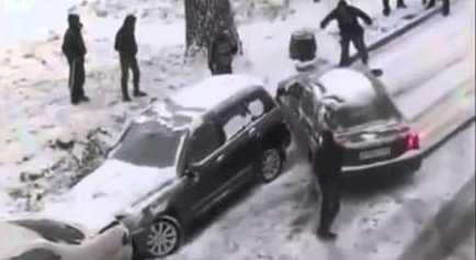انزلاق سيارات