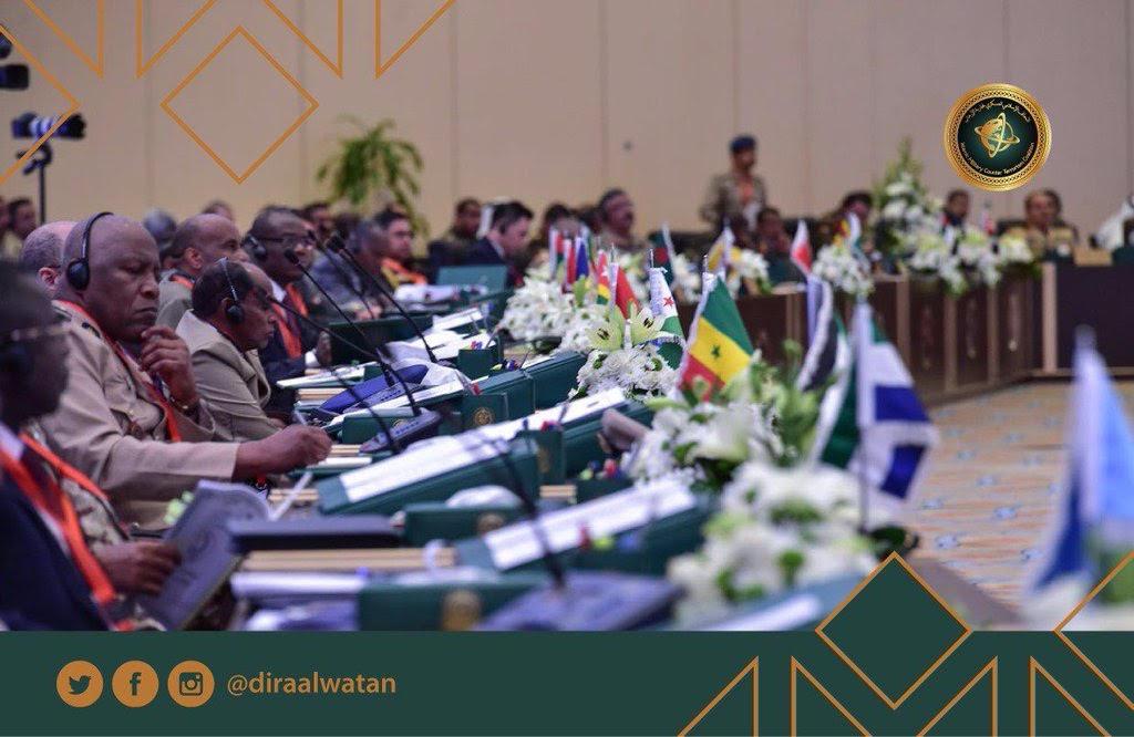 انطلاق اجتماع رؤساء الاركان في التحالف العسكري (1)
