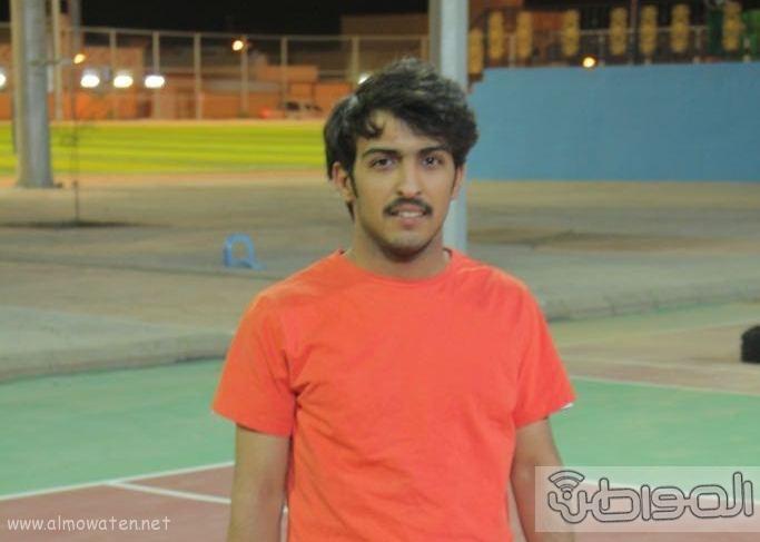 انطلاق بطولة التنس الأرضي الاولى على ملعب الاضارع (5)