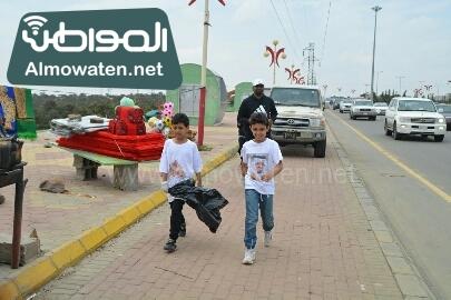 انطلاق حملة سياحة نقية لبيئة امنة بعسير (11)
