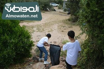انطلاق حملة سياحة نقية لبيئة امنة بعسير (14)