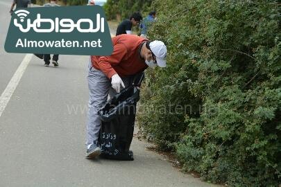 انطلاق حملة سياحة نقية لبيئة امنة بعسير (21)